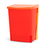 Built-in Bin 10L Binny Lipstick Red