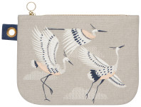 Flight Of Fancy Large Zipper Pouch