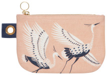 Flight Of Fancy Small Zip Pouch