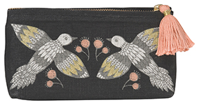 Wild Tale Pencil Cosmetic Bag