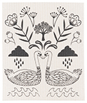 Wild Tale Swedish Dishcloth