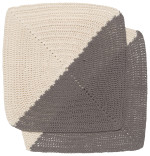 Angle Crochet Dishcloths <br> Set of 2 Granite