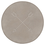 Arrows Concrete Trivet