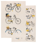 Bicicletta Dishtowels <br> Set of 2