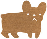 Frenchie Shaped Doormat