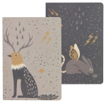 Beasties Notebooks <br> Set of 2