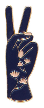 Show Of Hands Enamel Pin