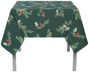 60x60 in Forest Birds Printed Table Cloth