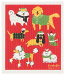 Yule Dogs Ecologie Swedish Sponge Cloth