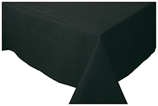 Black Spectrum Tablecloth <br> 60 x 90 inch