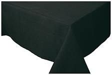 Black Spectrum Tablecloth <br> 60 inch round