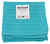 Bali Homespun Crochet Dishcloths <br> Set of 2