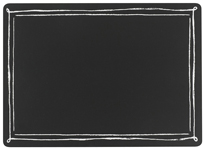 Blackboard Cork-Backed Placemats <br> Set of 4