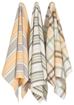 Harvest Jumbo Dishtowels <br> Set of 3