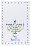 Hanukkah Tree Dishtowel