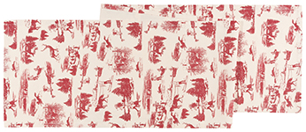 Holiday Toile Runner