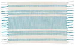 Maison Woven Placemat Turquoise