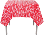 Yuletide Tablecloth <br> 60 x 60 inch