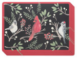 Winter Birds Cork-Backed Placemats <br> Set of 4