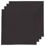 Black Renew Napkins <br> Set of 4