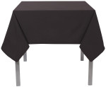 Black Renew Tablecloth <br> 60 x 90 inch