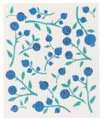 Blueberries Swedish Dishcloth