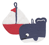 Ahoy Matey Tawashi <br> Set of 2