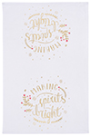Spirits Bright Dishtowel