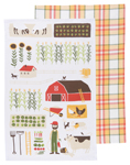 Farmer Joe Dishtowels <br> Set of 2