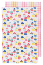 Cupcakes Dishtowels Set/2
