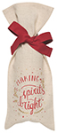 Spirits Bright Wine Bag