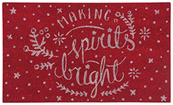 Spirits Bright Doormat
