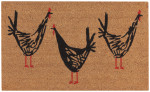 Chicken Scratch Doormat