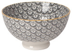 Stamped Bowl Dotted Scallop <br> 4 inch