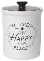 Happy Kitchen Vintage Canister