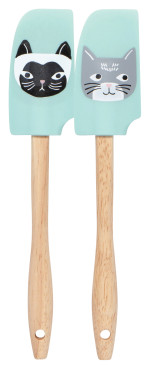 Cats Meow Mini Spatulas <br> Set of 2