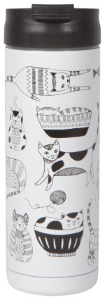 Mug Travel Purr Party