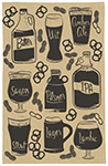 Craft Brew Dishtowel