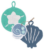 Coastal Treasures Wash-A-Lot Tawashi Set