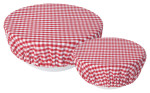 Gingham Bowl Cover Set of 2