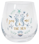 Coastal Treasures Wine Glass