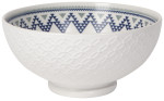 Circlet Embossed Bowl Serving 8inch