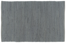 Chindi Rug Solid Grey <br> 2' x 3'