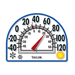4 Season Window Cling Thermometer