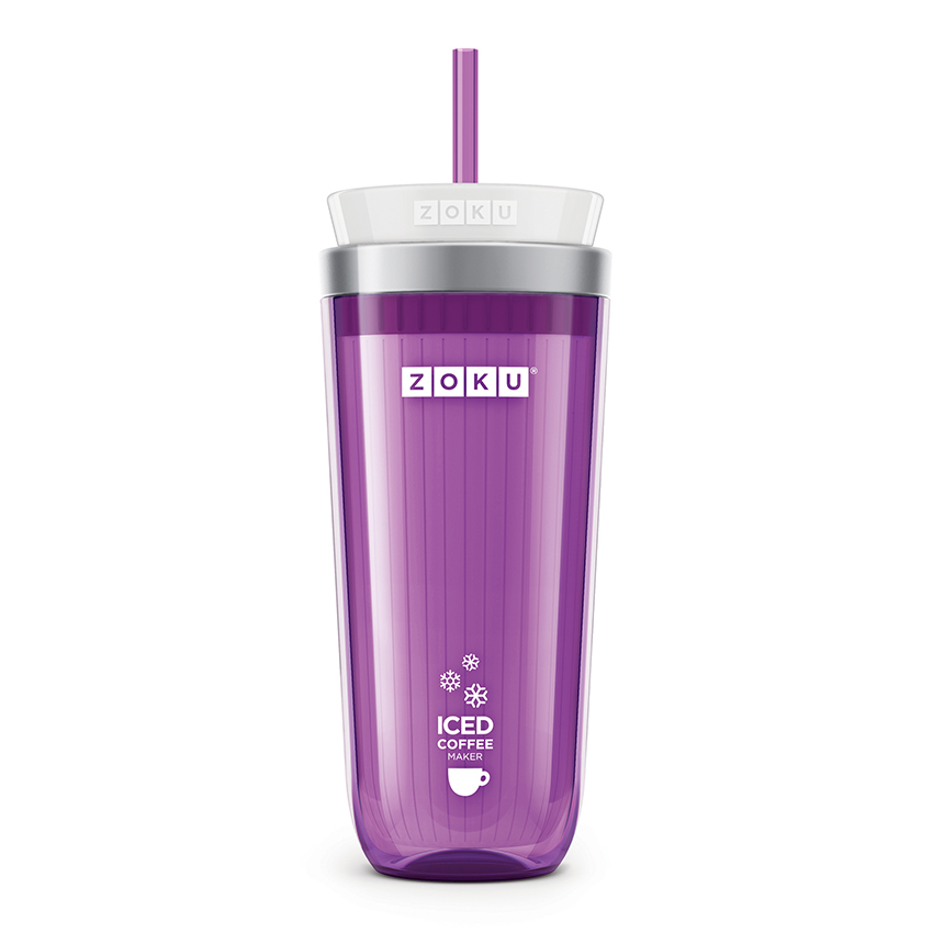 Zoku Purple Iced Coffee Maker