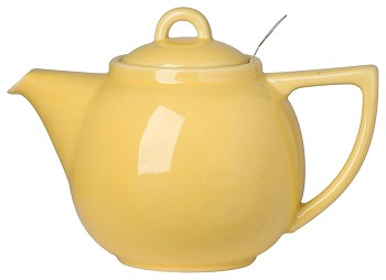Lemon Geo Filter Teapot <br> 2-cup