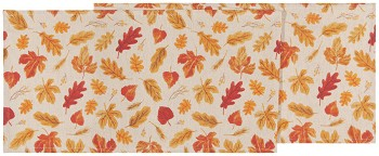 13x72 in Autumn Harvest Printed Table Runner