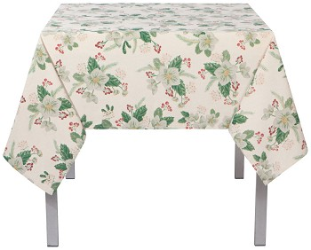 60x60 in Winterblossom Printed Table Cloth
