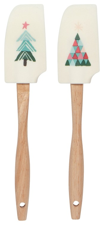Happy Llamadays Mini Spatulas Set of 2