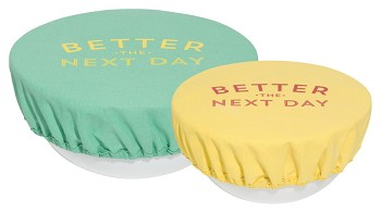 Better The Next Day Save It Bowl Covers <br> Set of 2